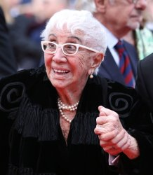 Lina Wertmuller attends the Cannes Film Festival
