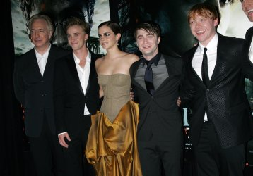 "The Cast arrives for ""Harry Potter and the Deathly Hallows - Part 2 Premiere in New York"