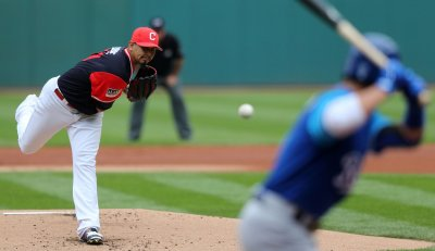 Indians Carrasco pitches against the Royals
