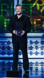 Ricky Gervais attends the 64th Primetime Emmy Awards in Los Angeles