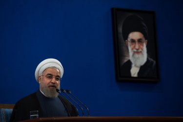 Iranian President Rouhani Press Conference on Iran Nuclear Deal