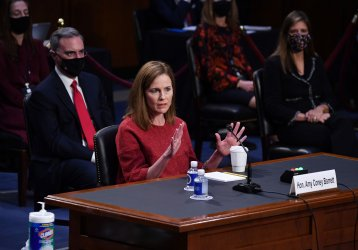 Supreme Court Nominee Barrett Appears Before Senate Judiciary Committee