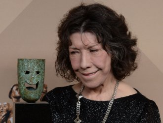 Lily Tomlin wins the Lifetime Achievement award at the 23rd annual SAG Awards in Los Angeles