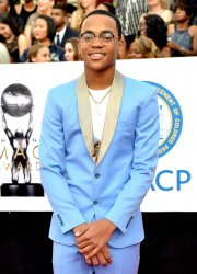 Michael Rainey Jr. attends the 49th NAACP Image Awards in Pasadena, California