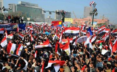 Rally to Mark Egyptian Revolt