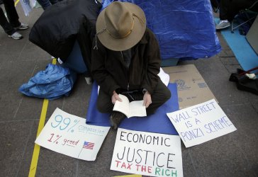 30 Day Anniversary of the Occupy Wall Street Protest Movement in New York