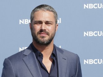 Taylor Kinney at NBCUNIVERSAL Upfront