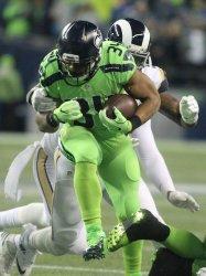 Seattle Seahawks beat Los Angeles Rams  24-3 in Seattle