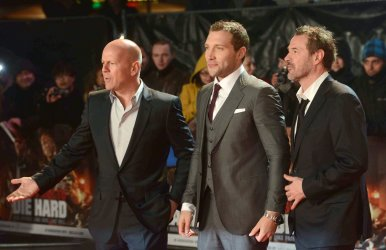 "The UK premiere of ""A Good Day To Die Hard"" in London"