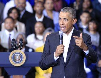 President Obama visits McKinley High School in Baton Rouge