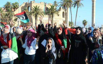 Libyans celebrations the Eid Al-Fitr Holiday in Tripoli