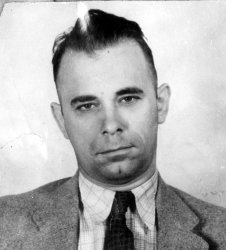 Gangster John Dillinger is seen here in this undated file photo.