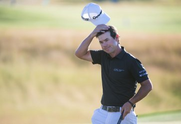 Brian Harman finished tied for second at the 2017 U.S. Open Golf Championship at Erin Hills in Wisconsin