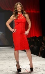 The Red Dress Collection 2013 Fashion Show is held in New York