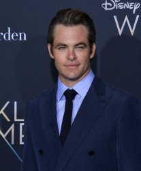 """Chris Pine attends the premiere of """"A Wrinkle in Time"""" in Los Angeles"""
