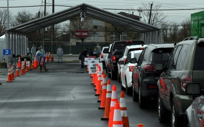 New York National Guard Supports COVID-19 Test Site on Staten Island