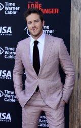 "Armie Hammer attends ""The Lone Ranger"" premiere in Anaheim, California"
