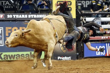 Professional Bull Riders at Madison Square Garden
