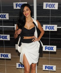 Nicole Scherzinger attends the FOX All-Star party in Pacific Palisades, California