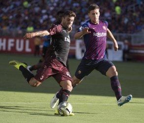 International Champions Cup A.C. Milan vs F.C. Barcelona