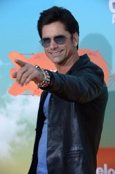 John Stamos attends the Kid's Choice Awards in Inglewood, California