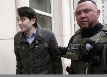 Turing CEO Martin Shkreli arrves at Federal Court