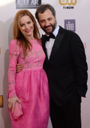 Leslie Mann and Judd Apatow attend the Critic's Choice Movie Awards in Santa Monica, California