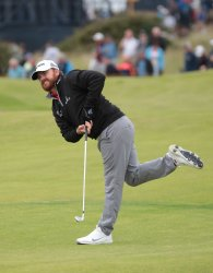 JB Holmes on the 3rd day of the Open Championship at Royal Portrush