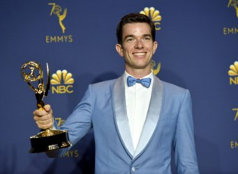 John Mulaney wins award at the 70th Primetime Emmy Awards in Los Angeles