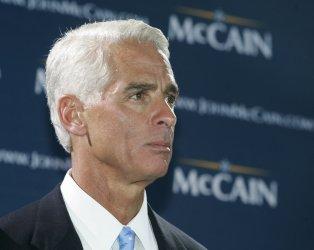 John McCain celebrates his triumph in Florida primary