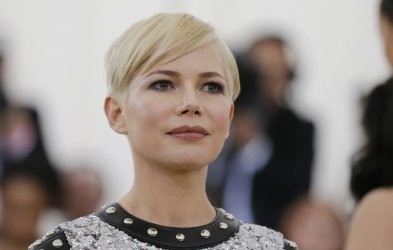 Michelle Williams at the Met Gala in New York