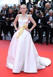 Dakota Fanning attends the Cannes Film Festival
