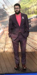 Adeel Akhtar attends the World Premiere of 'Pan' in London