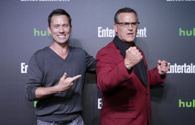 Jeffrey Donovan at Hulu's New York Comic Con After Party