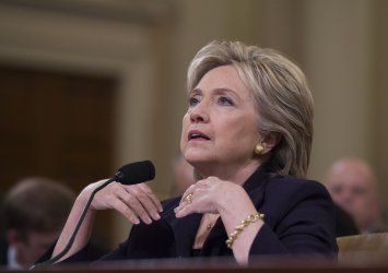 Hillary Clinton testifies before the Select Committee on Benghazi on Capitol Hill