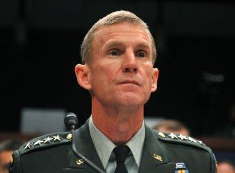 Army Gen. Stanley McChrystal testifies in Washington