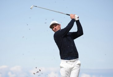 Justin Rose on the 3rd day of the Open Championship at Royal Portrush