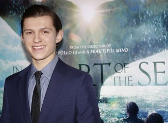 Tom Holland at In the Heart of the Sea Premiere