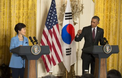 Obama and South Korean President Park Geun-hye Joint Press Conference