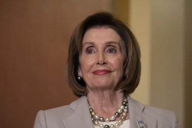 House Speaker Nancy Pelosi Hosts Italian President Sergio Mattarella