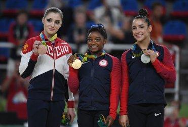 Simone Biles wins the gold at Rio Olympics