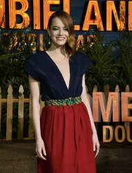 "Emma Stone attends ""Zombieland: Double Tap premiere in Los Angeles"
