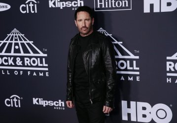Trent Reznor at 34th annual Rock and Roll HOF Induction