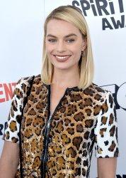 Margot Robbie attends the Film Independent Spirit Awards in Santa Monica, California
