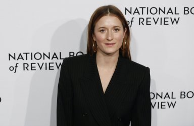 Grace Gummer arrives at The National Board of Review in New York