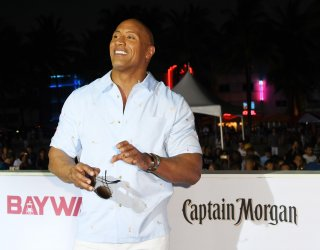Dwayne Johnson Attends the US Premiere of Baywatch in Miami Beach, Florida