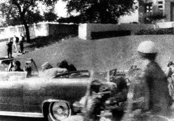 PRESIDENT JOHN F. KENNEDY ASSASSINATED IN DALLAS, TEXAS