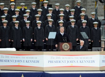 Ceremony Marks 50th Anniversary of JFK Assassination in Dallas