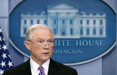 Attorney General Jeff Sessions speaks on sanctuary cities in Washington, DC
