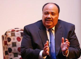 `Martin Luther King III speaks in St. Louis